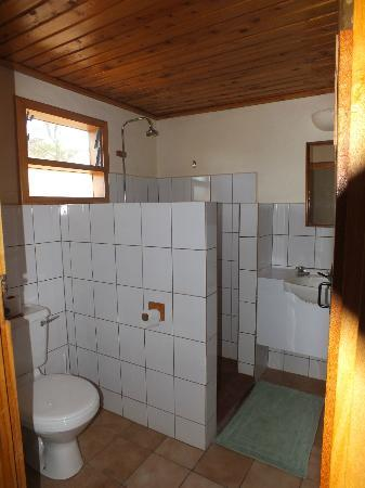 Ndutu Safari Lodge: Clean and tidy Bathroom.