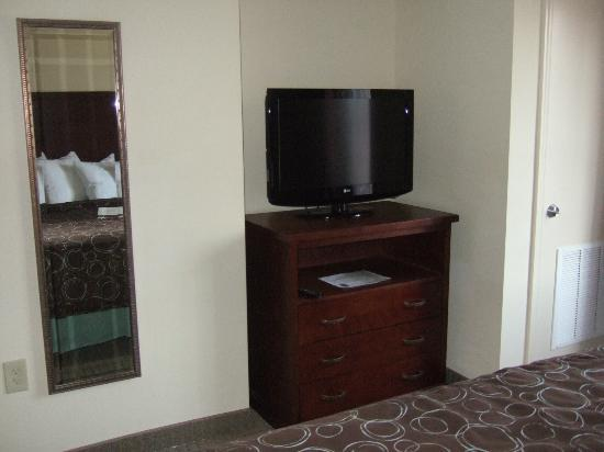 ‪ستايبريدج سويتس إيست سترودسبرج - بوكونوز: Flat screen TV in bedroom‬