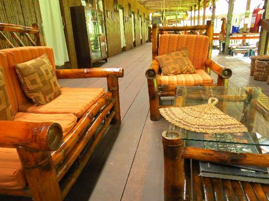 Tambopata Research Center: lounging area