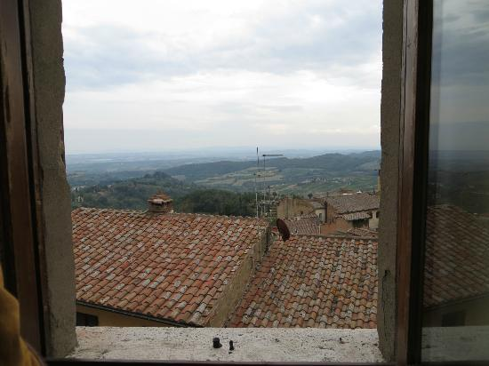 Gorgeous views out our window at La Locanda di San Francesco