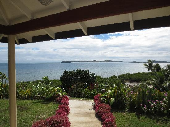 Volivoli Beach Resort Fiji: View from vale 971
