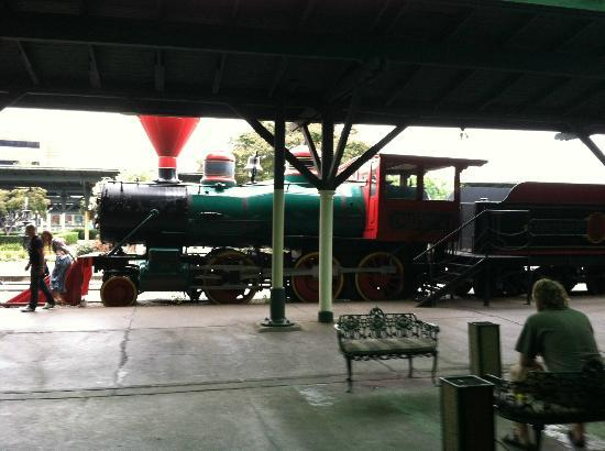 Chattanooga Choo Choo: kids can climb on