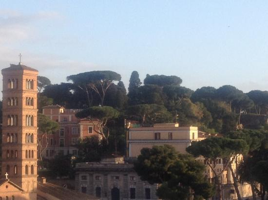 Fortyseven Hotel Rome: Capitaline Hill- Home of the Emperors