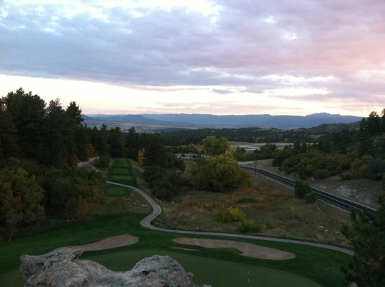 The Ridge at Castle Pines North : A beautiful Colorado sunset at The Ridge