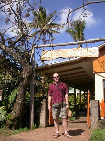 Hotel Orongo: Entrada al Hotel