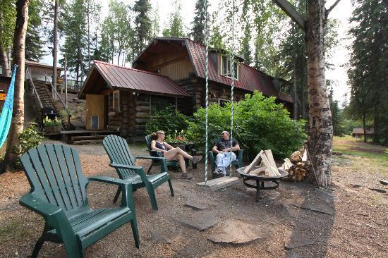 Alaska Troutfitters Lodge: The Swan Sanctuary