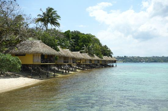 Iririki Island Resort: Waterfront Fares