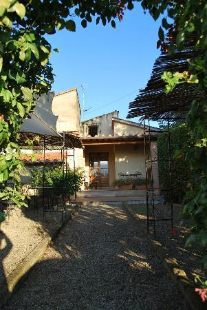 Entryway and View of Agriturismo Il Colto