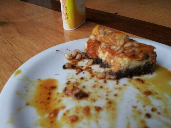 La Gringa Bakery: cheesecake de mote con cursillos....