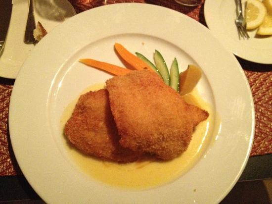 Lyric: Fish dish