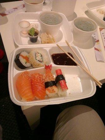Take away sushi from Super Sushi