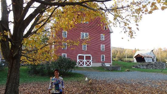 Farmhouse Inn at Robinson Farm: another perspective of the Red Barn