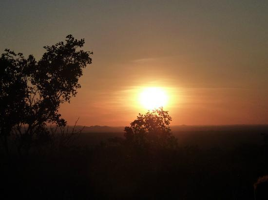 Undara Experience: sunset in the outback