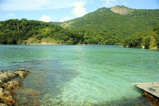 Pousada Ouro Verde: Blue Lagoon, Ilha Grande