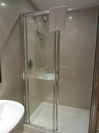 Larkinley Lodge: Shower