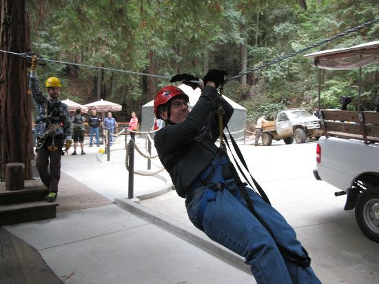 Sonoma Canopy Tours: starting the training with ground school...