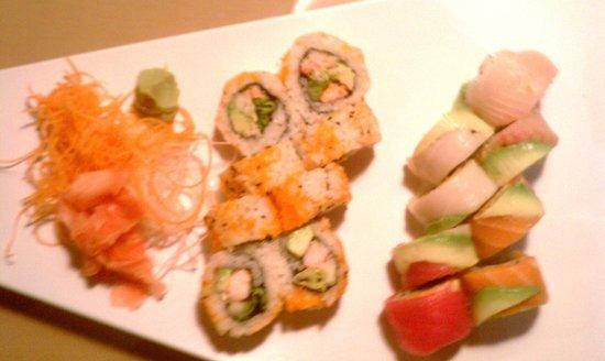 Home Sushi Thai: Rainbow & Alaskan Roll
