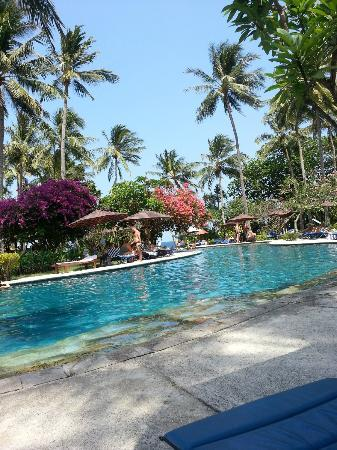 Holiday Resort Lombok: Lovely poolarea