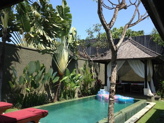 The Ulin Villas & Spa: so relaxing!