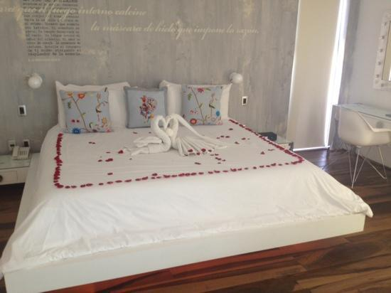 Be Playa Hotel: our master suite - even nicer in reality...