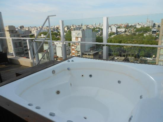 Fierro Hotel Buenos Aires: Private hot tub!
