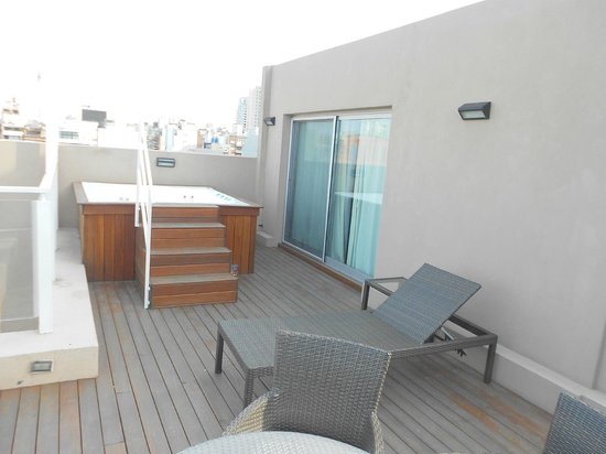 Fierro Hotel Buenos Aires: Terrace Suite private balcony