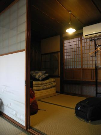 Guest house Rakuza: The smaller room of the twin room on the 1st floor