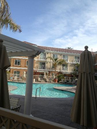Homewood Suites by Hilton La Quinta: Nice pool, but due to cold weather we did not use it.