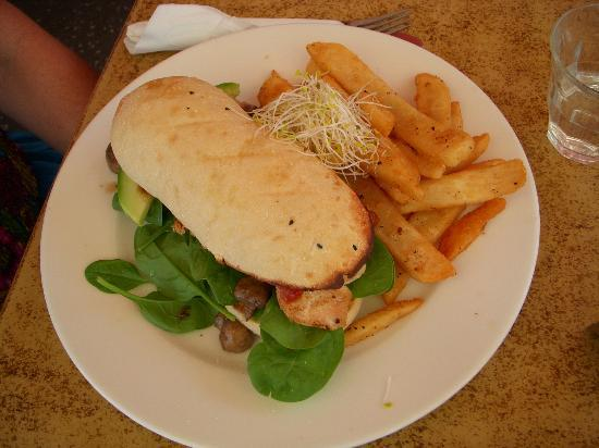 Oasis On The Esplanade: Chicken panini