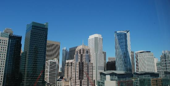 Courtyard by Marriott San Francisco Downtown: View from our room