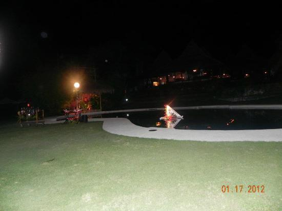 Badian Island Resort and Spa: pool/garden