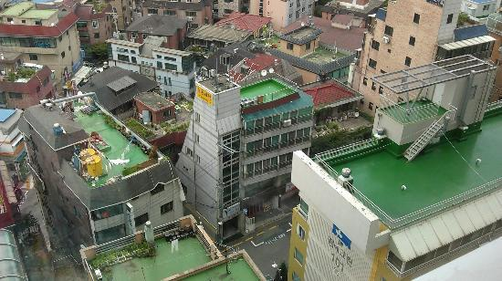 BEST WESTERN Premier Gangnam: view from my room