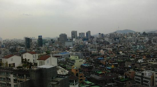 Best Western Premier Gangnam: like this view at day light