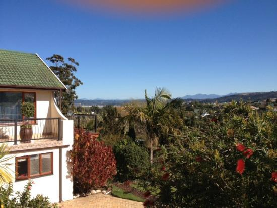 Knysna Country House: View over Knysna