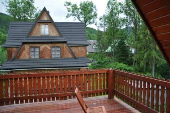 RentPlanet - Apartmenty Spiacy Rycerz : Vistas desde el balcón