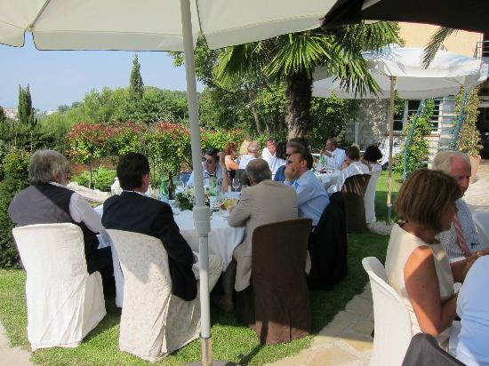 Hotel Eze Hermitage: Wedding reception dinner