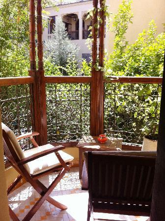 Ryad Salama Fes: Clementine balcony