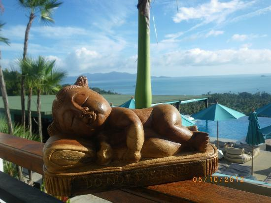 Mantra Samui Resort: view from balcony