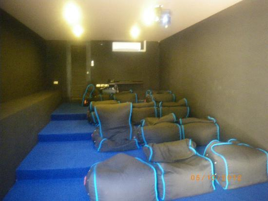 Mantra Samui Resort: private cinema