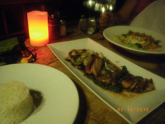 Mantra Samui Resort: dinner