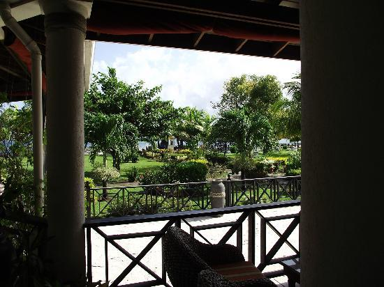 Coyaba Beach Resort: view from bar