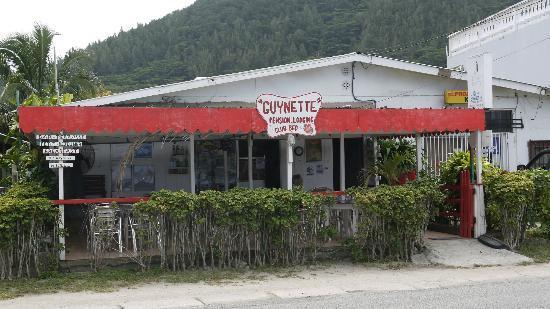 Chez Guynette: Ansicht von der Straße