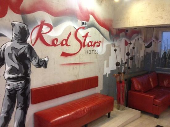 Red Stars Hotel : entrance lobby
