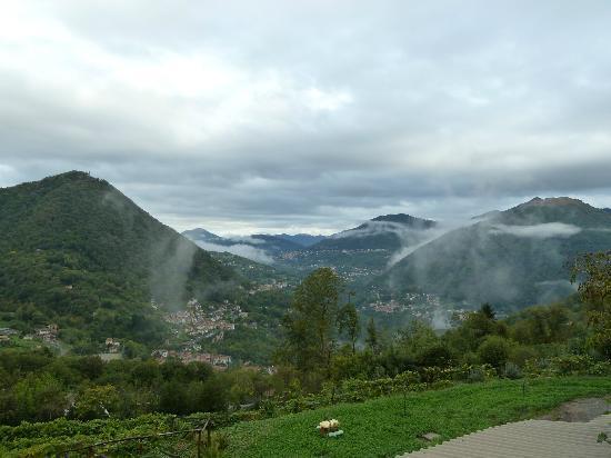Agriturismo Al-Marnich: Aussicht vom Zimmer