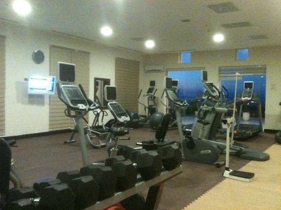 Hilton Bodrum Turkbuku Resort & Spa: The Gym