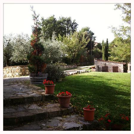 Rocca di Cispiano: Beautiful grounds