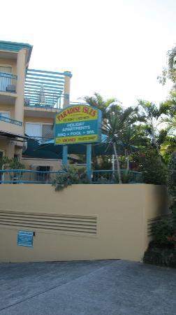 بارادايس إيسليز: Hotelgelände 