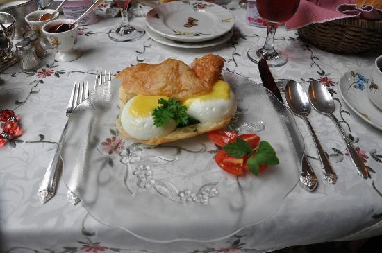 Sleepy Hollow Bed & Breakfast : Le petit déjeuner