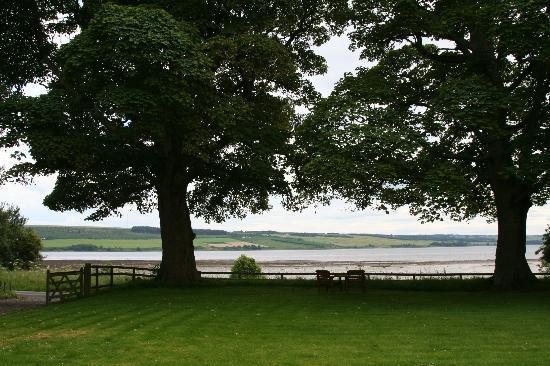 Kiltearn House: Aussicht nach Cromarty Firth