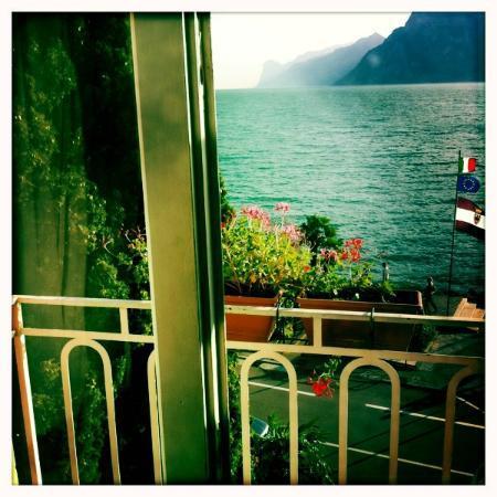 Hotel Monte Baldo: Blick aus einem Südzimmer